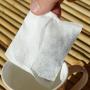 Filtre / sachet papier japonais fermable PETIT 9.5cm*7cm (60 pcs)